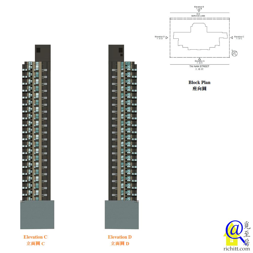 AVA 228立面圖B