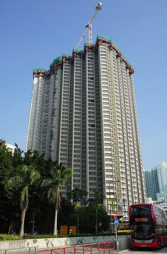 在建中的凱德苑 - Prosperity-Horizons作品 (維基百科)