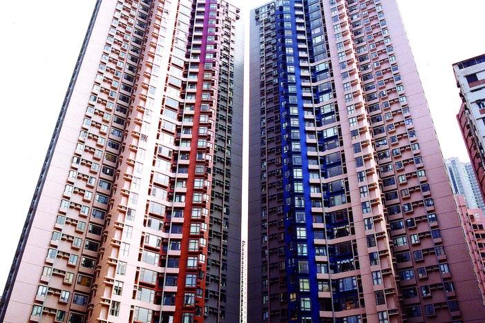 荷李活華庭近觀 - 取材自香港房屋協會網站