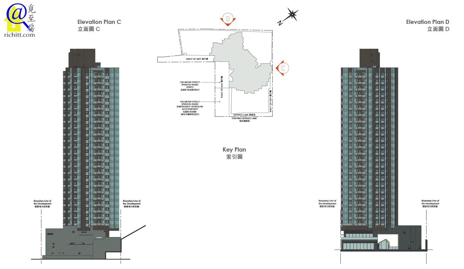 瑧樺立面圖2- 引用自售樓說明書